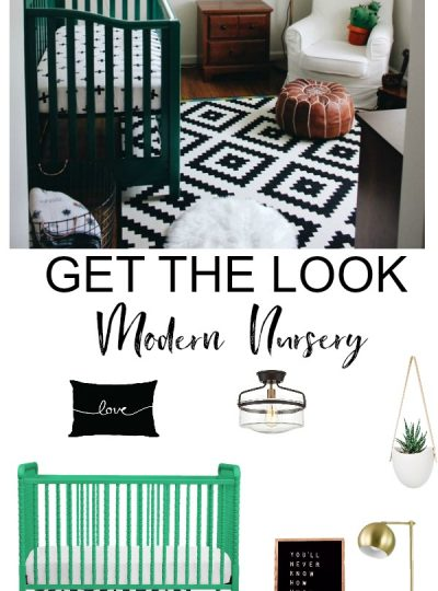 perfect green and black nursery