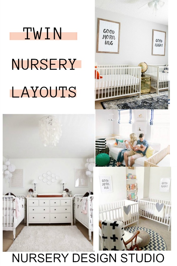 TWIN NURSERY LAYOUT IDEAS