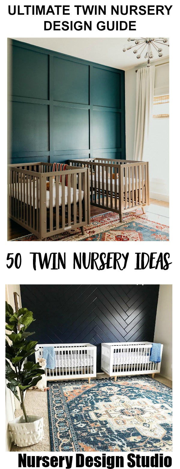 THE ULTIMATE GUIDE TO DESIGNING A TWIN NURSERY | Nursery ...