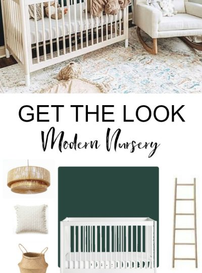 dark green modern nursery