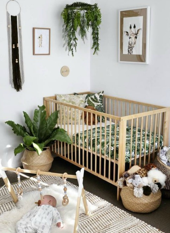 decorate a nursery without painting
