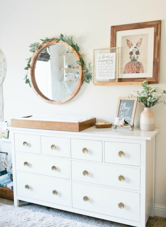 decorating a nursery without nursery
