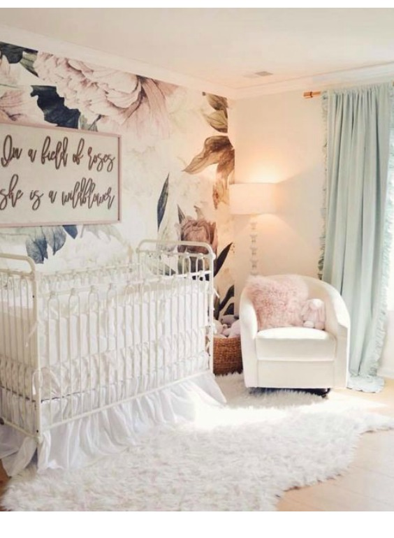 decorating a nursery without paint