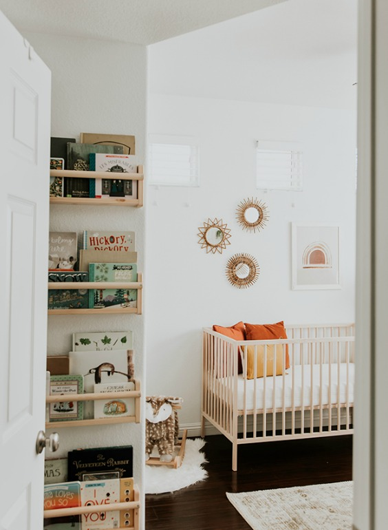 decorating a nursery without painting the walls