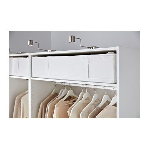 ikea nursery closet organization that's affordable