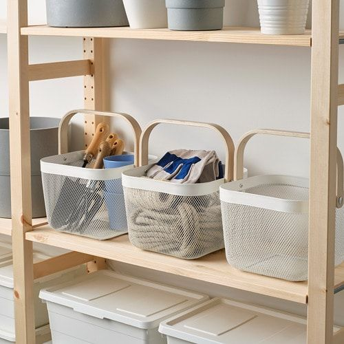 ikea nursery closet organization under 15 dollars