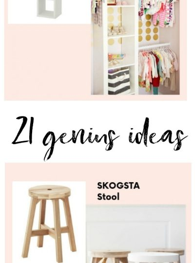 21 ikea nursery hacks