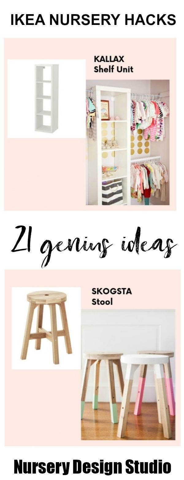 21 Best Ikea Nursery Hacks That Are Brilliant Nursery Design Studio