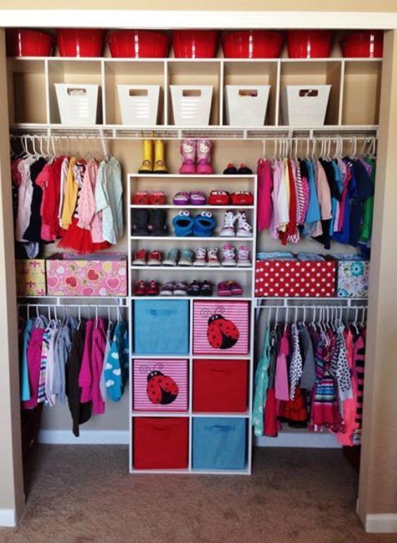 Small Nursery Closet Ideas How To Maximize Space And Store More Nursery Design Studio