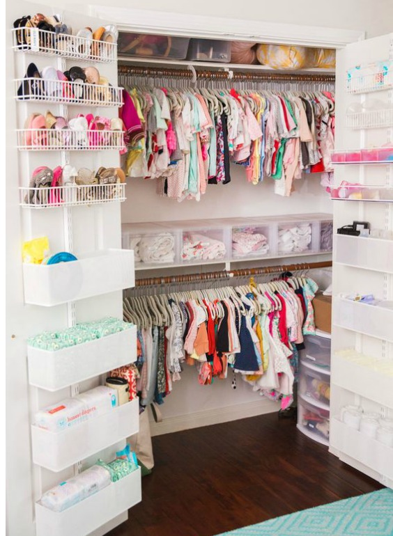 Small Nursery Closet Ideas How To