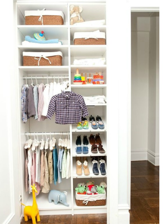 SMALL NURSERY CLOSET IDEAS: HOW TO MAXIMIZE SPACE AND STORE MORE | Nursery Design Studio