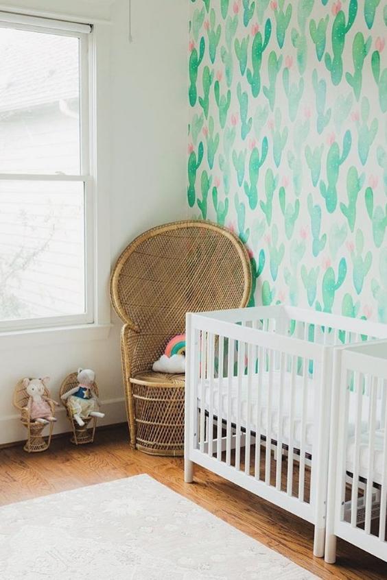 boho twin nursery
