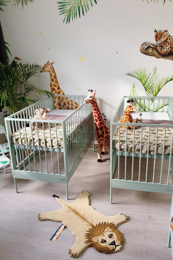 tropical nursery design