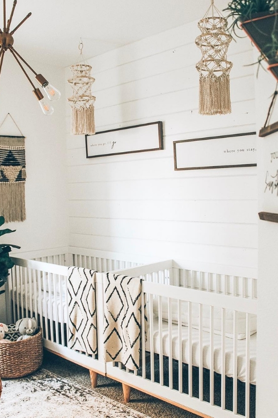 farmhouse twin nursery