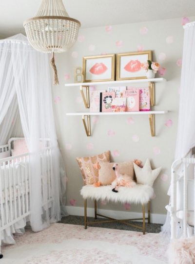 designing a twin nursery