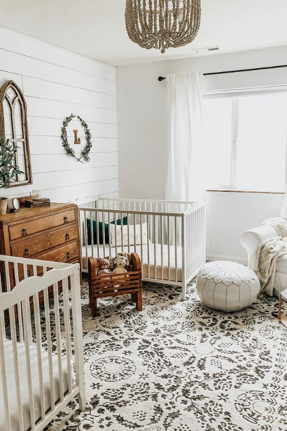 twin nursery idea