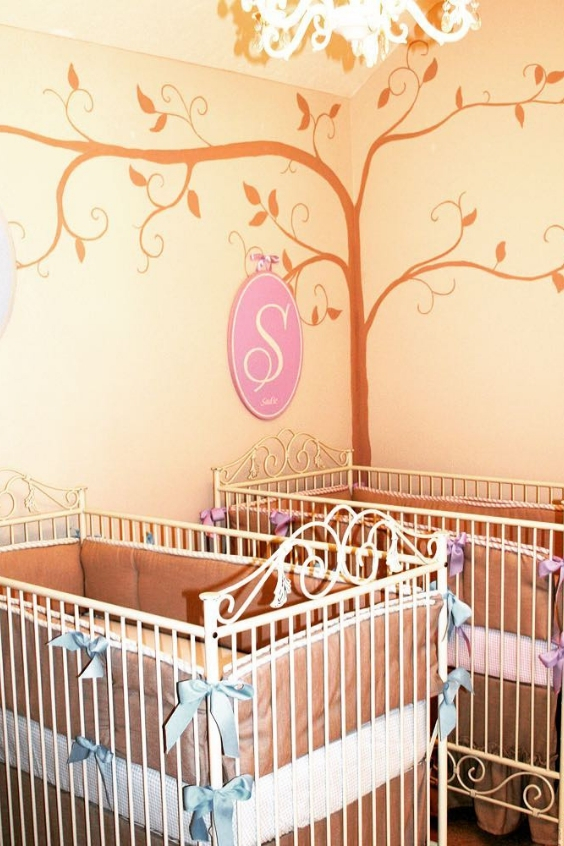 designing a twin nursery