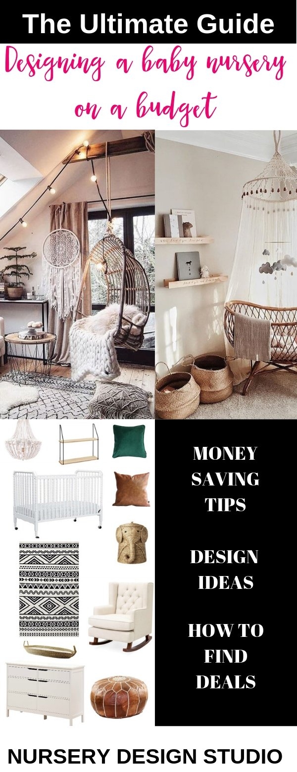 designing a nursery on  a budget