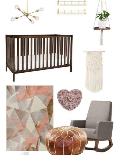 affordable amazon mid century nursery