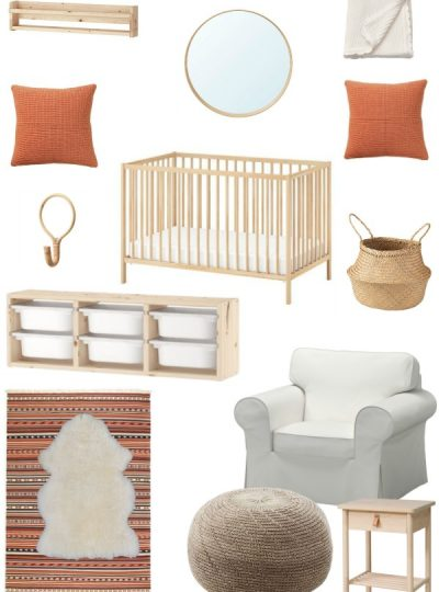 ikea finds for a more stylish and organized nursery