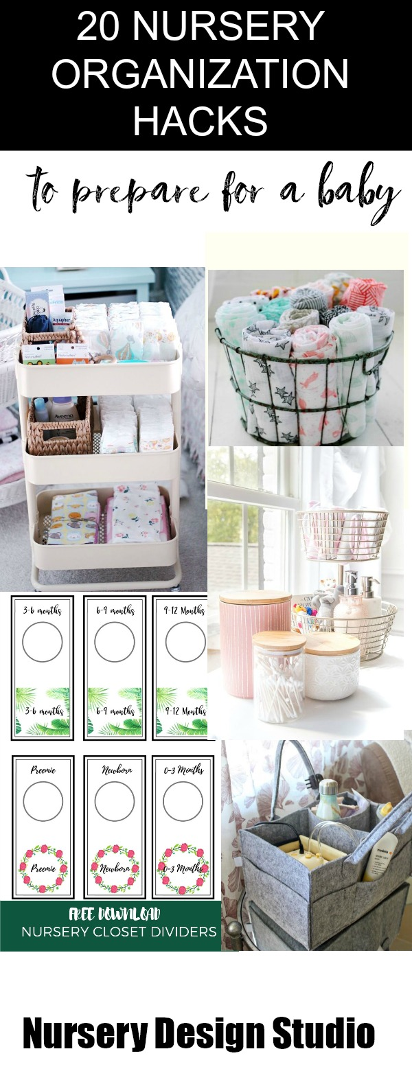 nursery organization hacks