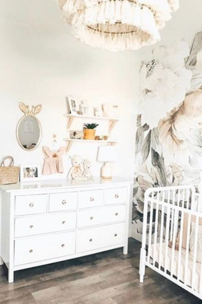 space saving hacks for small nursery