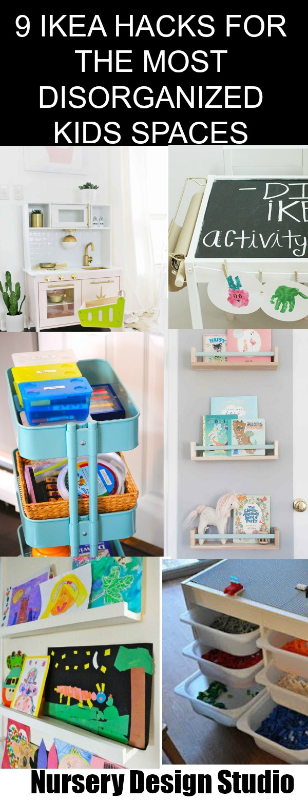IKEA HACKS FOR THE MOST DISORGANIZED KIDS SPACES