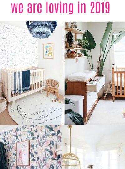 nursery themes 2019