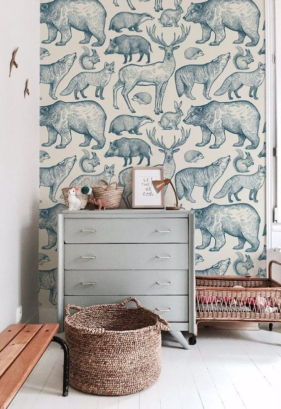 NURSERY WALLPAPER IDEAS