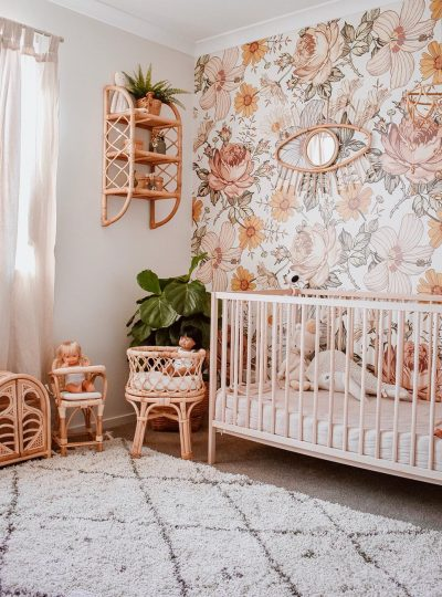 STYLISH BOHO CHIC NURSERY