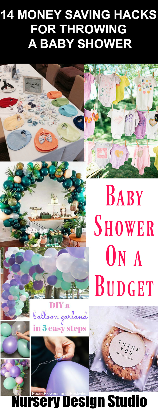 Money Saving Hacks when planning a baby shower on a budge
