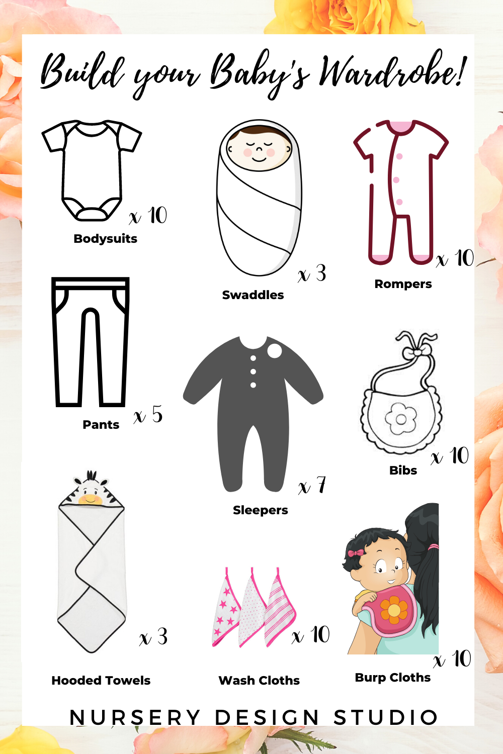 what clothes do babies need