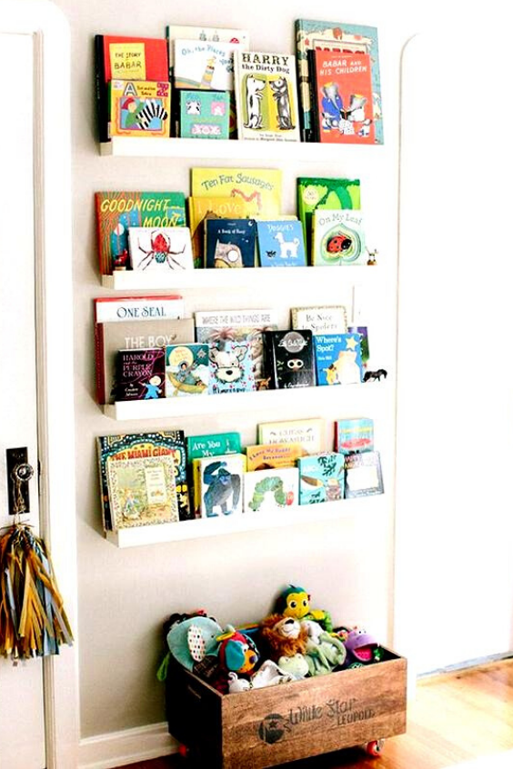NURSERY STORAGE IDEAS FOR ORGANIZING  BABY'S ACCESSORIES
