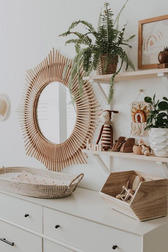 21 Rattan Nursery Decor Ideas That Have