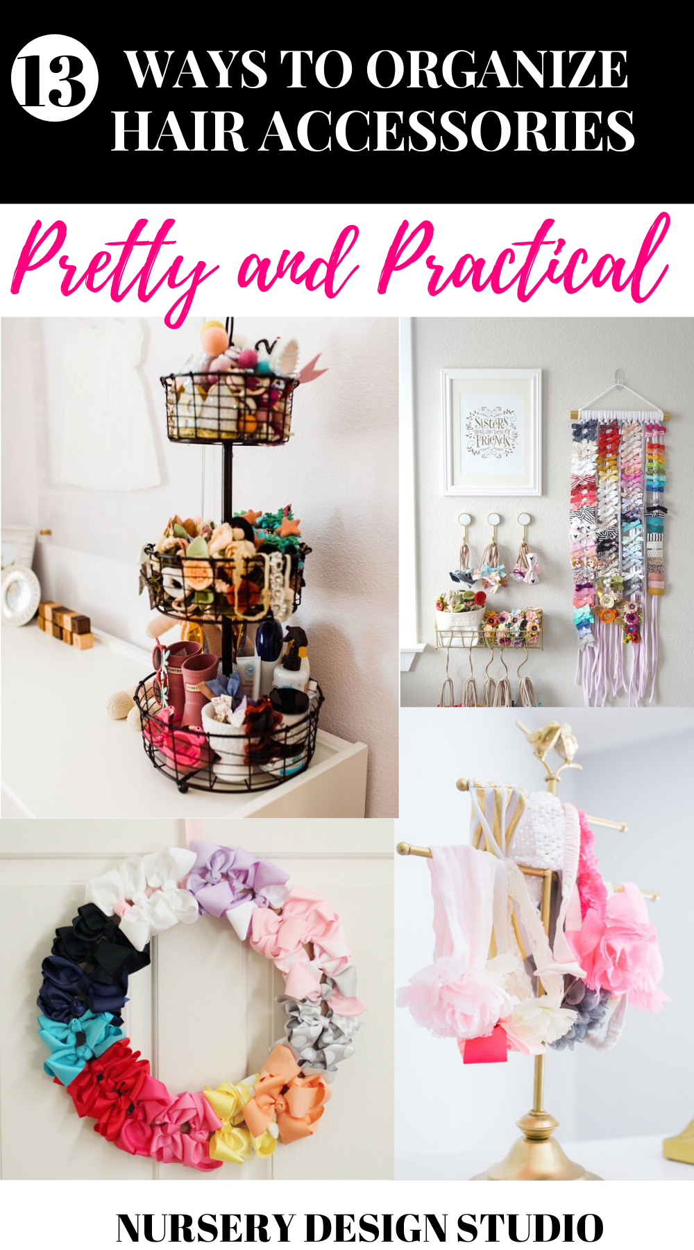 WAYS TO ORGANIZE HAIR ACCESSORIES