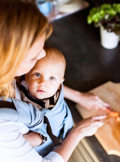 MOM HACKS TO GET HOUSEWORK DONE WITH BABY AT HOME