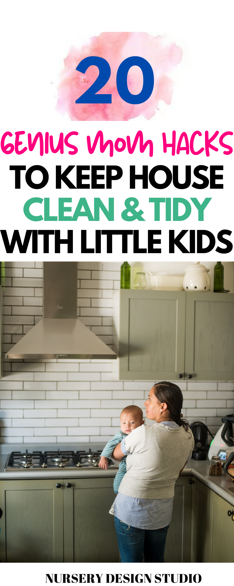 keep the house clean with little kids