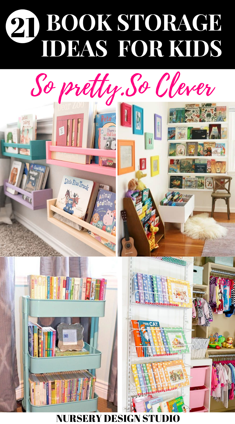 how to organize kids books