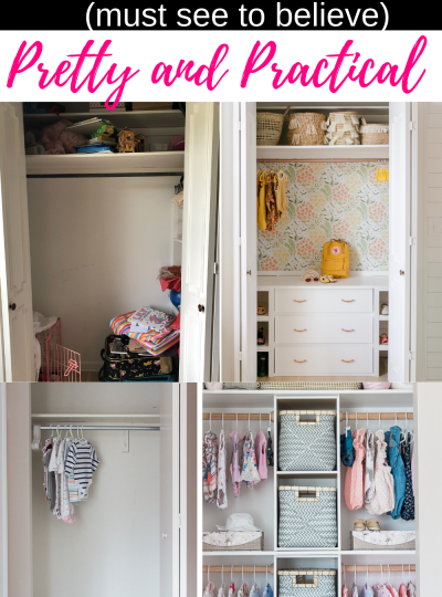 BABY CLOSET MAKEOVERS