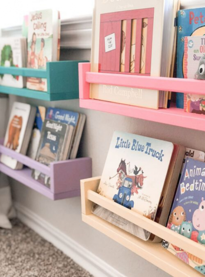 BOOK STORAGE IDEAS FOR KIDS