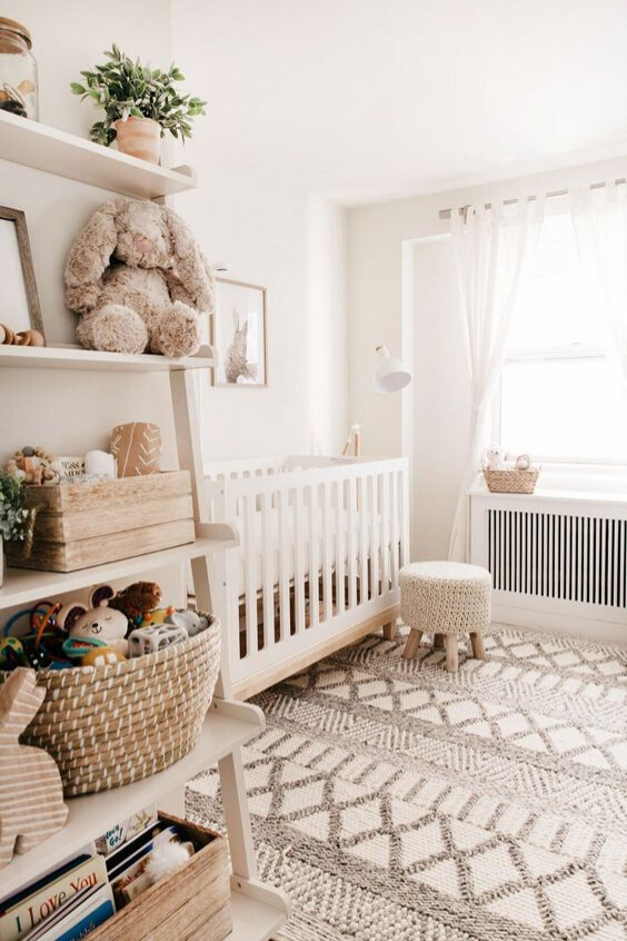 TOY STORAGE IDEAS FOR THE NURSERY