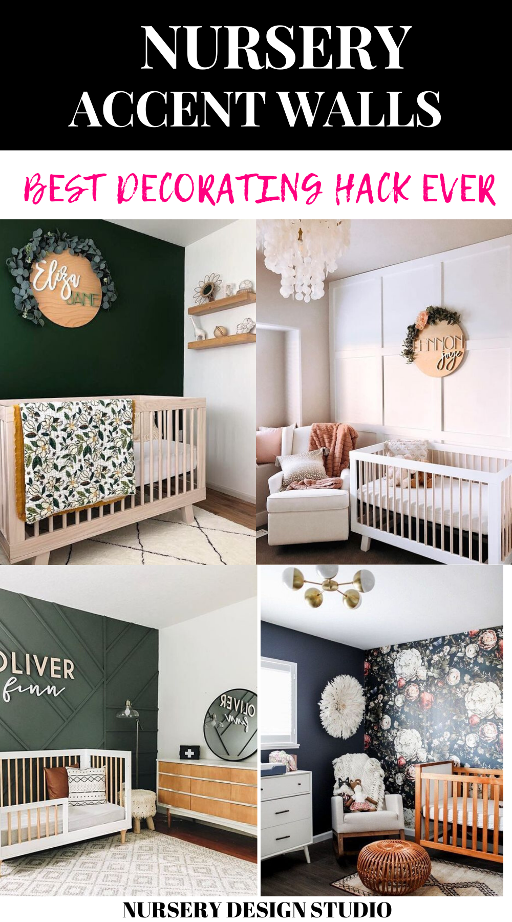 11 STUNNING NURSERY ACCENT WALL IDEAS THAT YOU'LL WANT TO ...