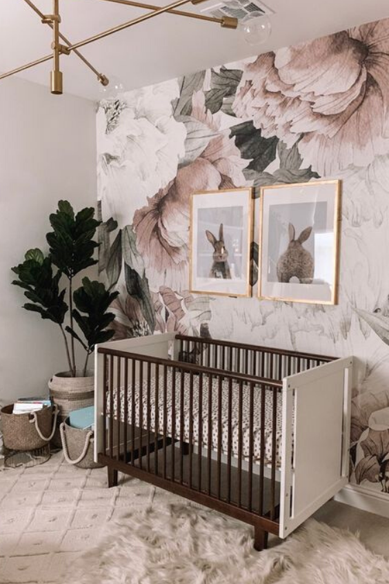 11 Stunning Nursery Accent Wall Ideas That You Ll Want To Steal Nursery Design Studio