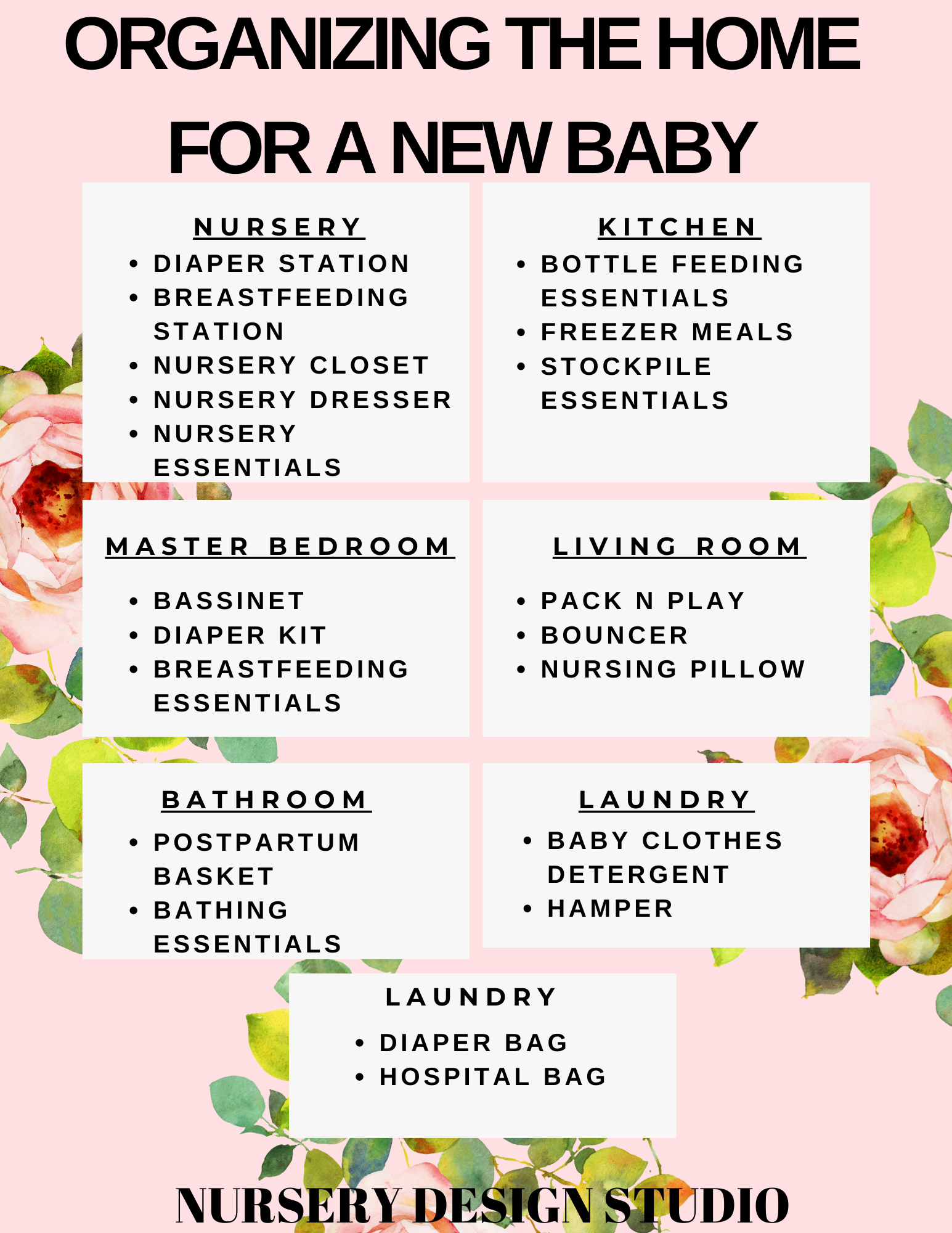 ORGANIZE YOUR HOME FOR NEW BABY
