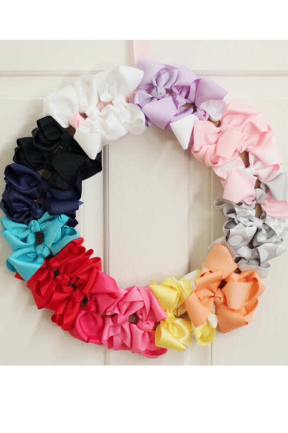 HAIR BOW WREATH