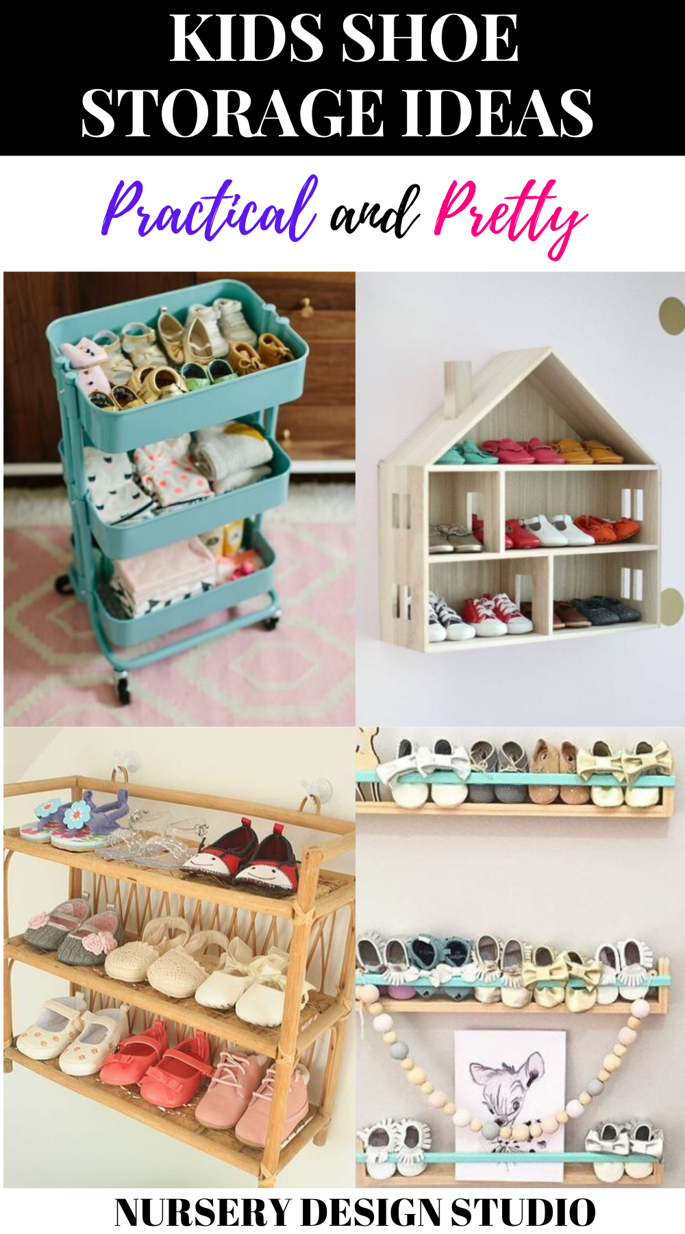 kids shoe organization ideas