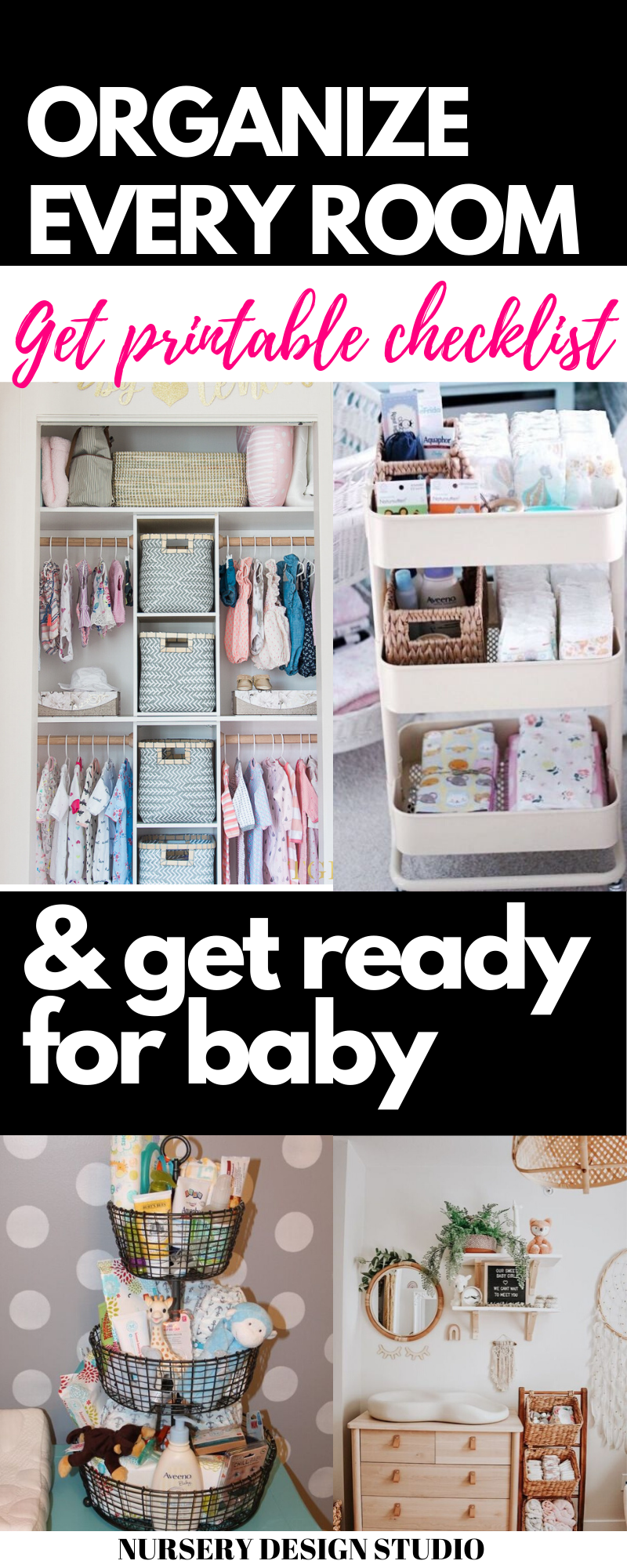 organize every room in the house