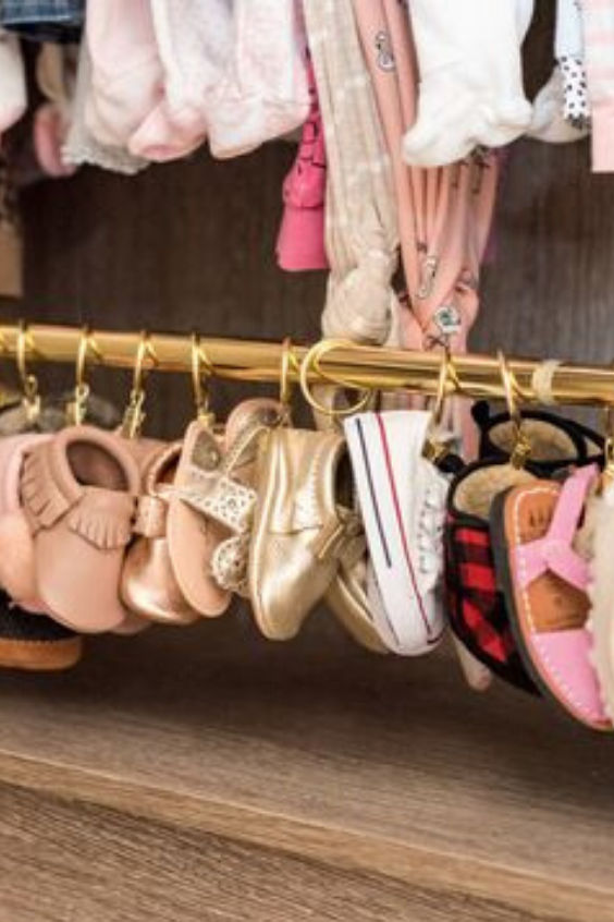 how to store baby's shoes