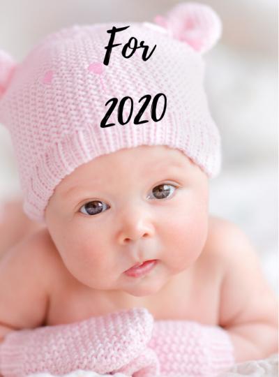 top baby girl names 2020