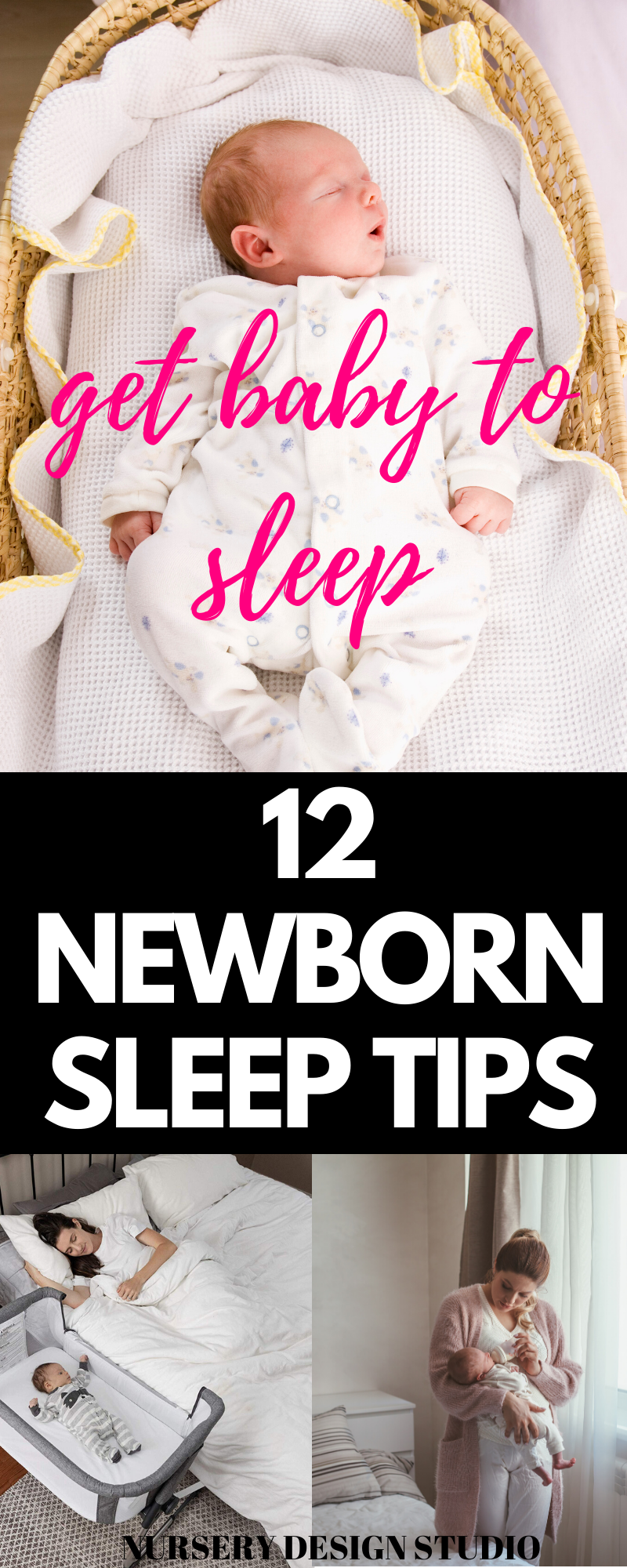 12 newborn baby sleep tips
